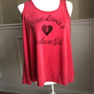 New Altar'd States southern girl tank top